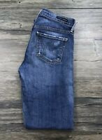 Citizens Of Humanity Distressed Ava Low Rise Straight Leg Jeans Womens 25 /