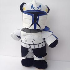 BABW Build A Bear Star Wars Storm Trooper Outfit Black Plush Tan Face Toes VGC