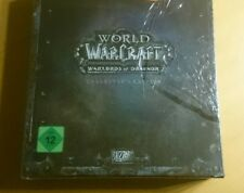 Wow World of Warcraft caudillos of Draenor Collector's Edition PC-nuevo