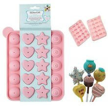 Assorted Silicone Cake Pop Lollipop Non Stick Mould Tray Party Cookware Baking