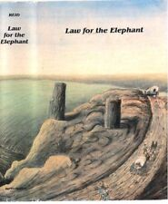 Life on The Overland Trail - LAW FOR THE ELEPHANT By John Reid - 1st edition
