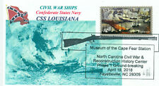 CSS LOUISIANA Confederate Ironclad Ram Blue Image Exploding Ship Pictorial PM