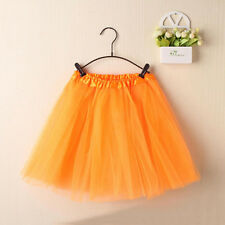 Women's Multi Layer Mesh Skirts Ballet Pettiskirt Mini Short Tutu Party Dress