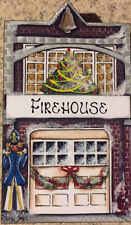 Brandywine CHRISTMAS Downtown Collection: FIREHOUSE - Shelf Sitter