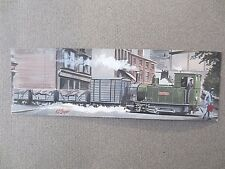 BOOKMARK Welshpool & Llanfair Light Railway COUNTESS Steam Locomotive Working