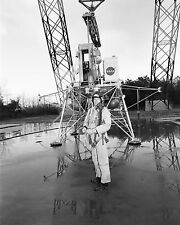 Neil Armstrong at Lunar Landing Research Facility at Langley Photo Print