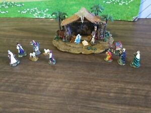 THE MAGNIFICENT BLESSINGS MINIATURE NATIVITY THOMAS KINCADE COLLECTION