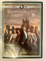 Masterpiece: Downton Abbey - Season 6 (DVD, 2016, 4-Disc Set)