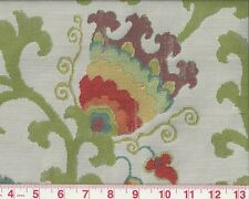 First Quality Overstock Floral Upholstery Fabric Braemore Textile Nurata Garden