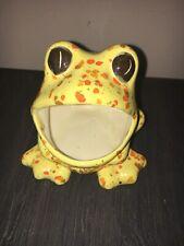"man woman male female frog planter set nice nac ceramic 4.5/"" tall nice cute pair"