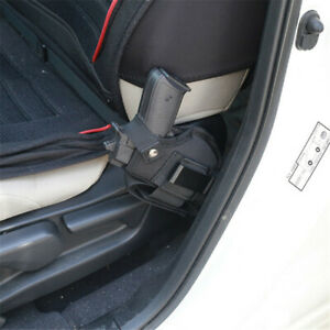 Vehicle Mount Car Truck Ambidextrous Concealed Carry Gun Holster with 2 Straps