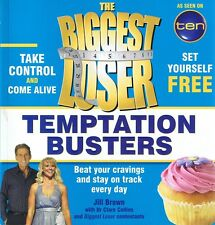 THE BIGGEST LOSER Temptation Busters by Jill Brown (p/b, 2010) FREE EXPRESS