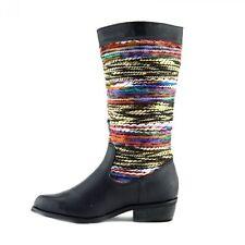 Damen Geblümte Stiefel & Stiefeletten mit Reißverschluss