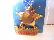 DISNEY WHERE DREAMS HAPPIN 2007 PIN EVENT BULLSEYE ROUNDUP LE 250 TOY STORY 2