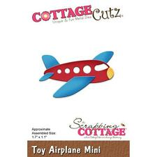 Toy Airplane Mini Steel Die Cutting Dies Cottage Cutz CC-311 New