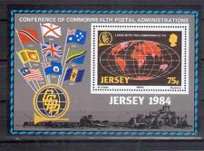 JERSEY 1984 75p Postal Conference M/S MUH