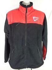 "2002 Olympics ""RARE"" Coca~Cola Fleece Jacket Salt Lake Winter Games Coat Adult M"