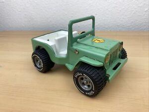 Vintage 1970's Tonka Smokey the Bear, Smokey's Ranger Vehicle, Green Jeep