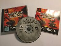PLAYSTATION 1 PS1 PSone GAME GRUDGE WARRIOR + BOX & INSTRUCTIONS COMPLETE PAL