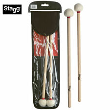Stagg SMB-WB Hard Bell Mallets with Maple Handles