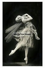 rp10551 - Russian Prima Ballerina , Anna Pavlova - photograph 6x4