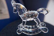SWAROVSKI CRYSTAL ROCKING HORSE 183270 RETIRED BNIB COA