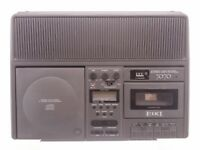 Eiki Model 7070A Stereo Compact Disc Player/Cassette Tape Recorder