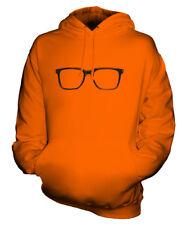 Gafas Estilo Geek Unisex Estampado Moderno Top con Capucha Hipster Swag Gafas