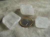 Calcita transparente (lote de 3 piezas)