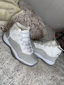 Jordan 11 Retro White Metallic Silver (W)
