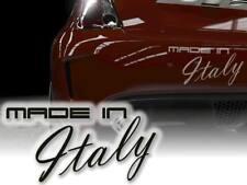 Auto Aufkleber Italien Autosticker 25cm JDM OEM Decals Fiat stilo Alfa Romeo bre