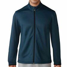 Adidas Men Sweater Jacket full Zip Jacket Climalite Black Size L