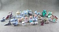 LOT of 13 Vintage Small Porcelain Animals Ducks Dear Bears Frog Turtle Owl Japan