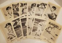 1953 - 1957 Large Spic and Span Milwaukee Braves Lot Set of 12
