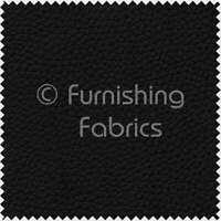 Black Colour Faux Leather Vinyl Upholstery Fabrics Material PVC PU Leatherette