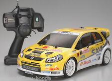 Tamiya 1-10 RC XB Suzuki SX4 WRC TT-01 E inkl. LED Licht vorn + hinten 300057777