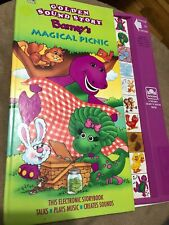 Barney's Magical Picnic Golden Sound Talking Story Vintage 1993