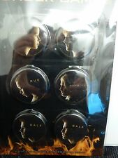 NEW RARE MISTAKE Hunger Games NECA 6 PIN BUTTON KATNISS PEETA RUE GALE HAYMITCH