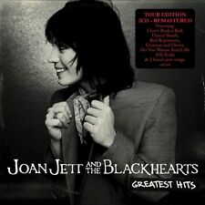 JOAN JETT & THE BLACK HEARTS (GREATEST HITS 2CD SET SEALED + FREE POST)