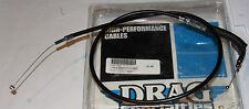 "HARLEY DRAG SPECIALTIES 0650-0325 THROTTLE CABLE 28.5"" VINYL NOS"