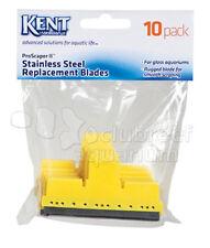 Kent Marine Pro Scraper II 10 Pack Replacement Blades SS/Glass Aquarium