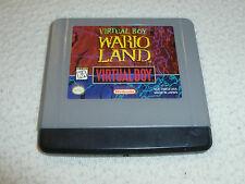 VINTAGE NINTENDO VIRTUAL BOY GAME ONLY CARTRIDGE WARIO LAND NES RARE CART