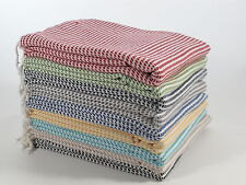 MULBERRY Turkish Towel Peshtemal Sarong Bath SPA Beach Hamam Gym cotton-viscose