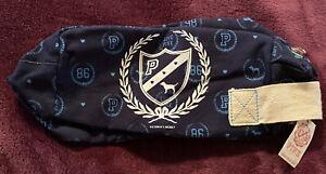 New Rare Victoria's Secret Love PINK Cosmetic Bag Makeup 86 Dog Blue University
