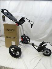 New listing New 2020 Bag Boy Spartan Push Pull Golf Cart Bag Carrier BagBoy - Silver Black
