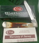 case xx 2008 Red Stag Trapper Lock Knife Bought New First Open Perfect Unused