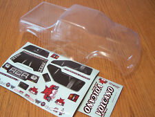 NEW Redcat Racing 1/10 Volcano EPX, EPX Pro, Nitro S30 Clear RC Truck Body Decal