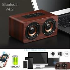 Portable HiFi Wireless Bluetooth Speaker Dual Speakers Shock Bass for iPhone 7