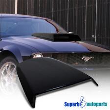 2005-2009 Ford Mustang GT V6 ABS Racing Hood Scoop Vent Black