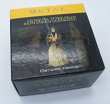 Stars Wars Attakus Metal Obi-Wan Kenobi Limiter Edition Sculpture Pewter Figure